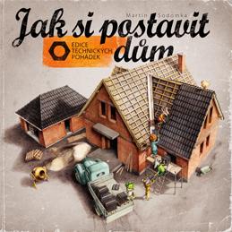 Prozatím poslední z knížek v nabídce MS Studia - Jak si postavit dům.